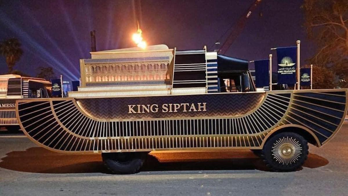 400 televisiones emitiran desfile dorado faraones 18 faraones 4 reinas trasladados carrozas 2285175