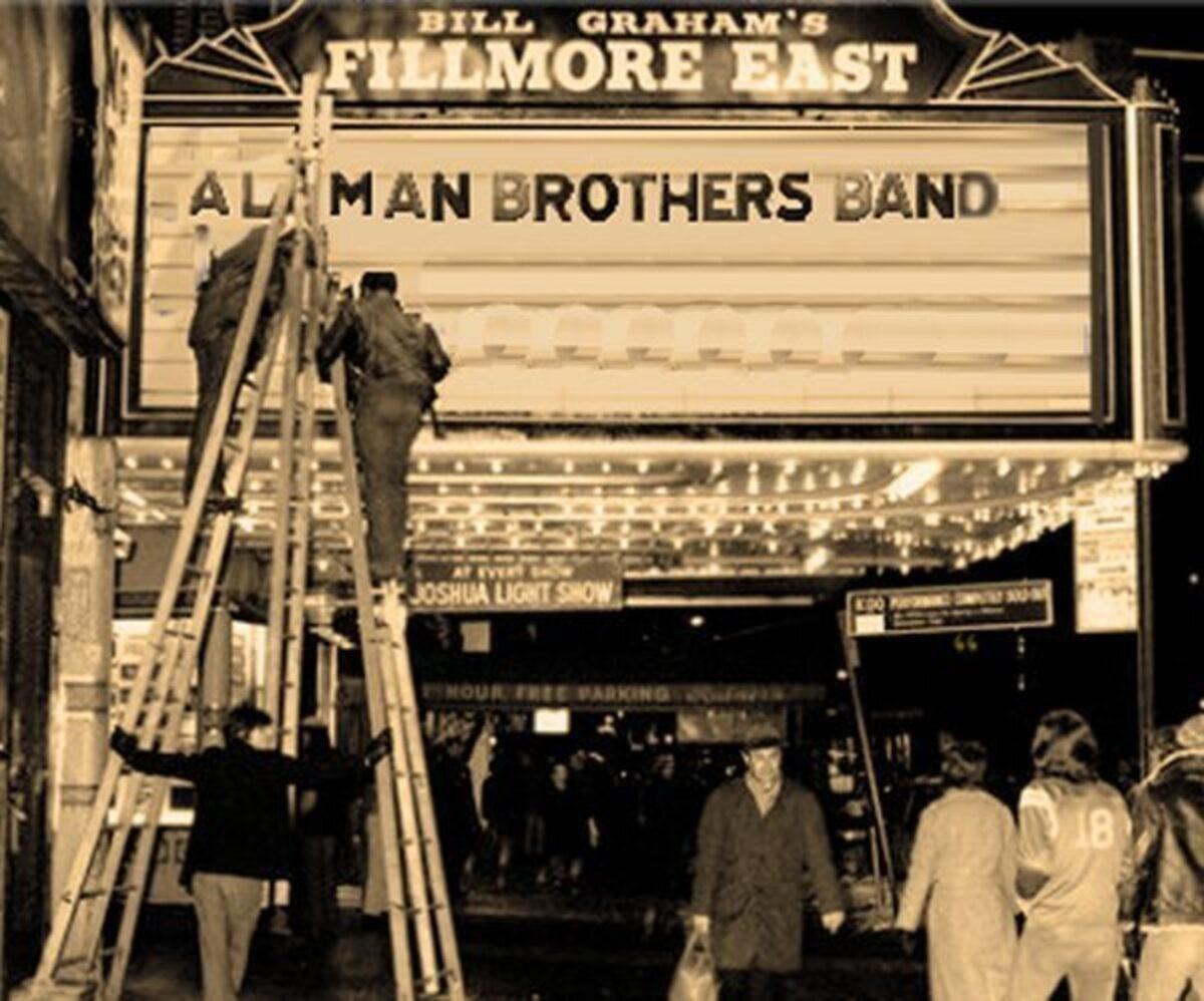 Allman Bros Fillmore