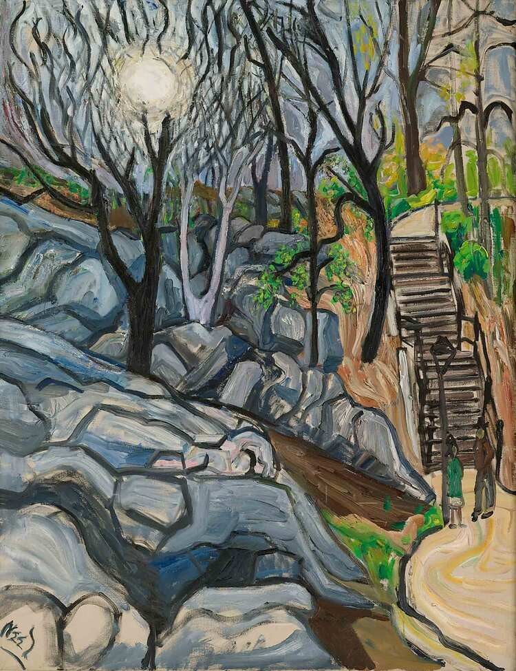 Cat Neel Central Park 1959 IA NEEAL0695 007 1410 r1