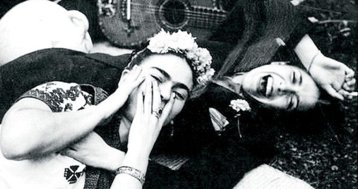 Chavela Vargas con Frida Kahlo