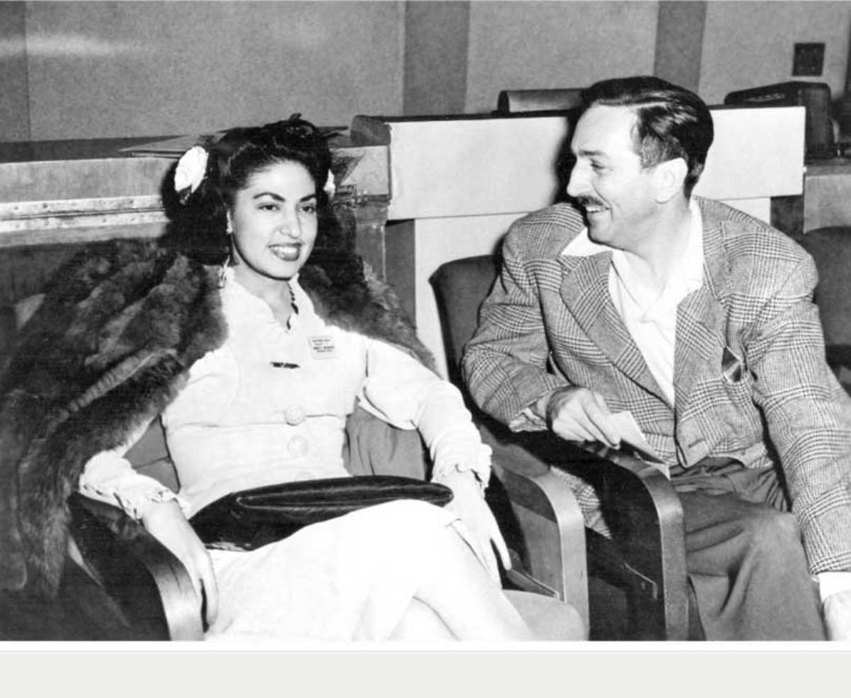 Consuelo con Walt Disney