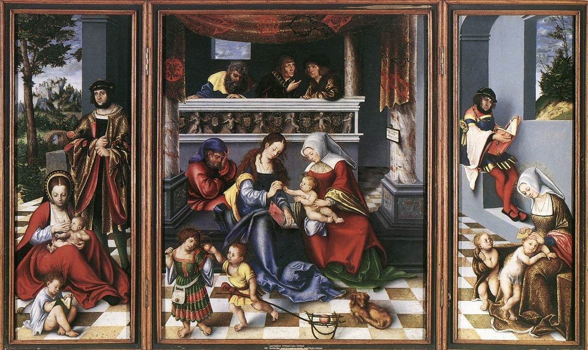 Cranach holy kinship