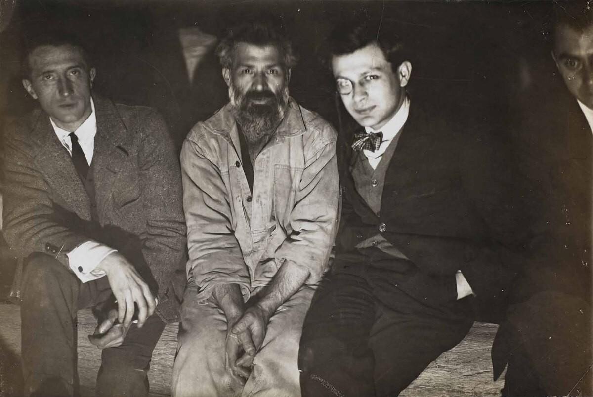 Duchamp Brancusi Tzara y Man Ray
