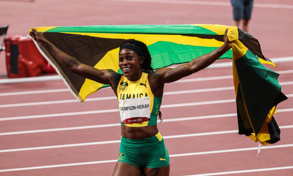 Elaine Thompson Herah Gained the 200 Meters Her Second Gold in 1200x720