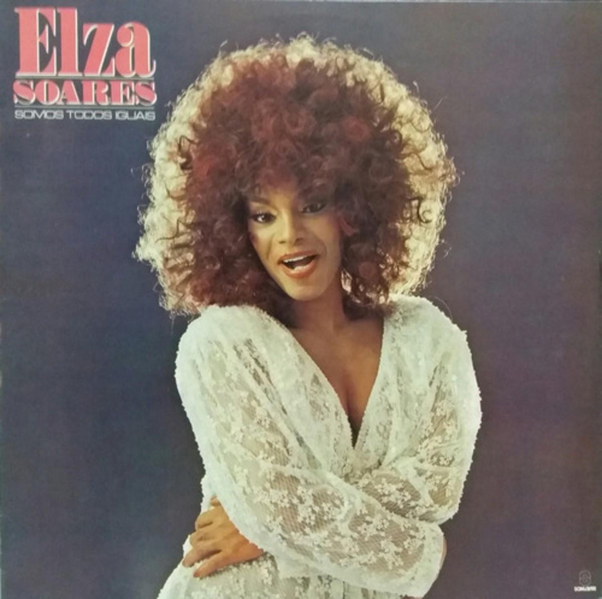 Elza Soares tapa de un disco histórico