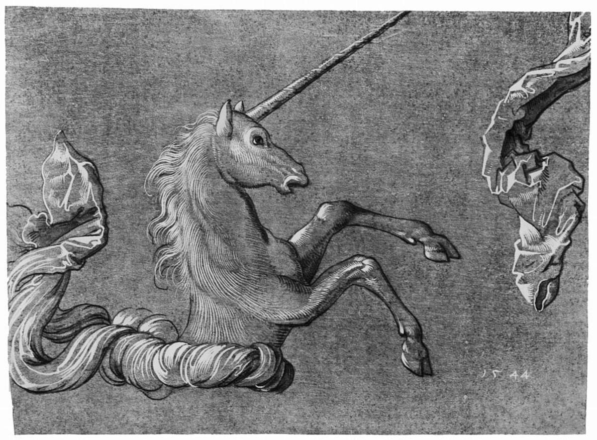 Grabado aleman medieval