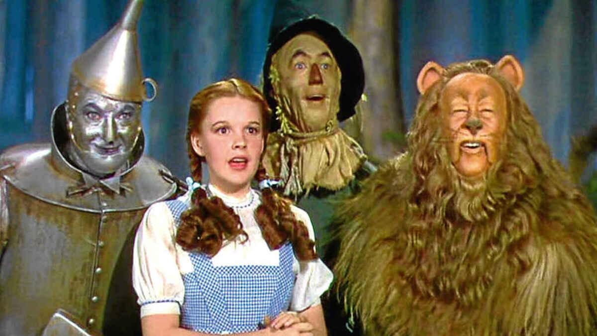 Judy Garland el Mago de Oz