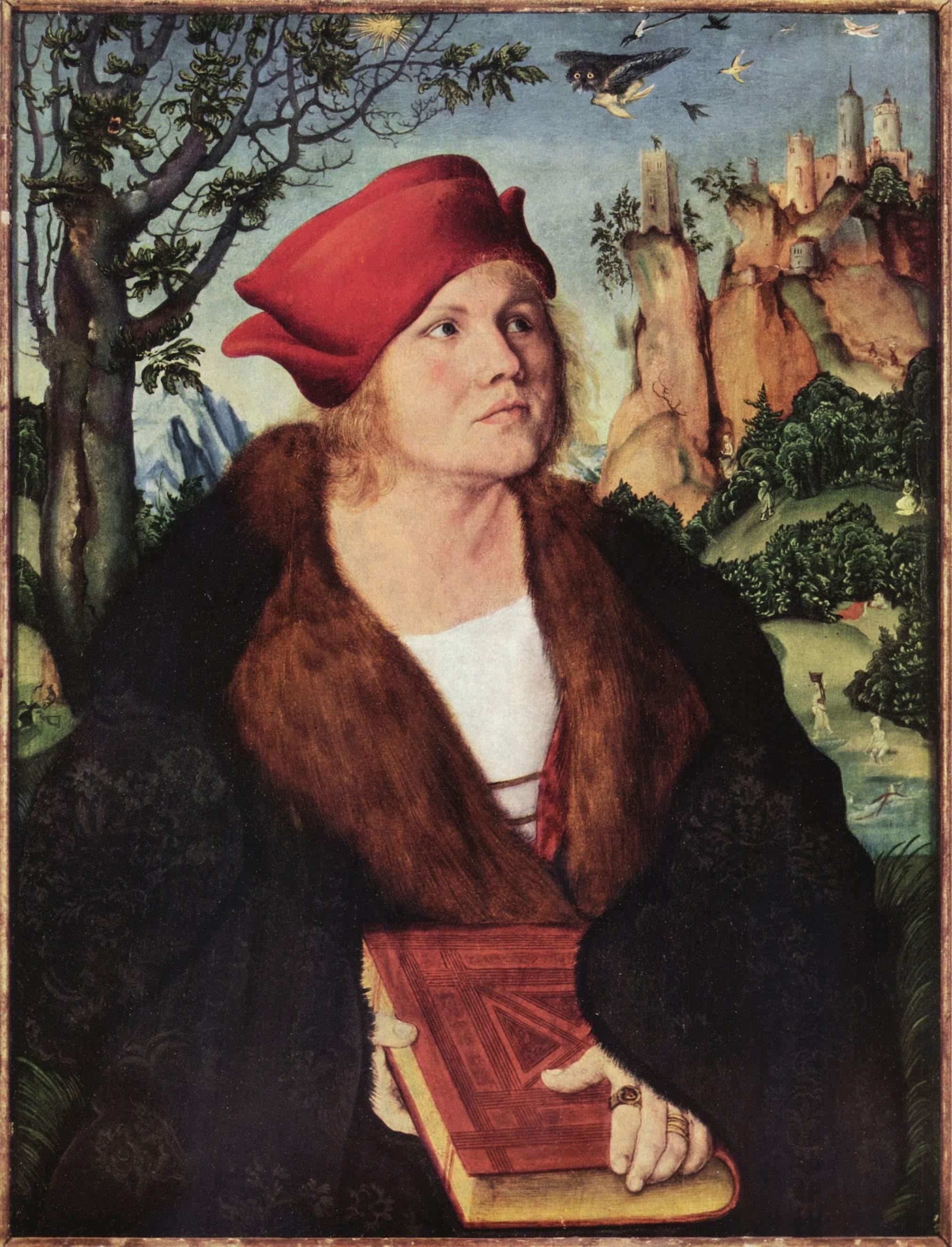 Lucas Cranach I Dr. Johannes Cuspinian copy