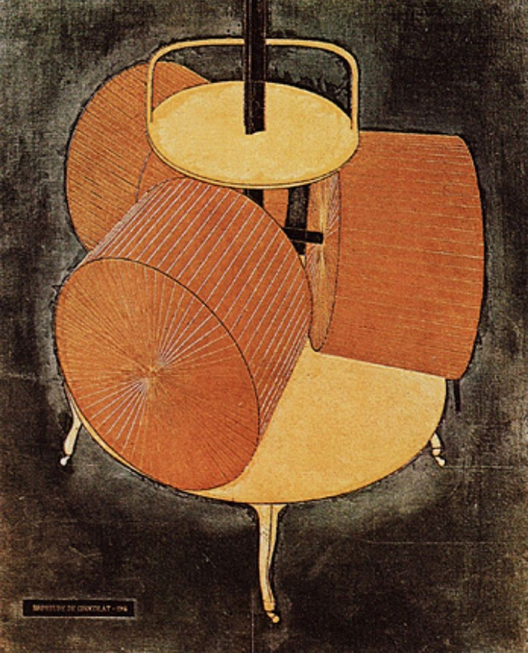 Marcel Duchamp Broyeuse de Chocolat 1913. Philadelphia The Philadelphia Museum of Art