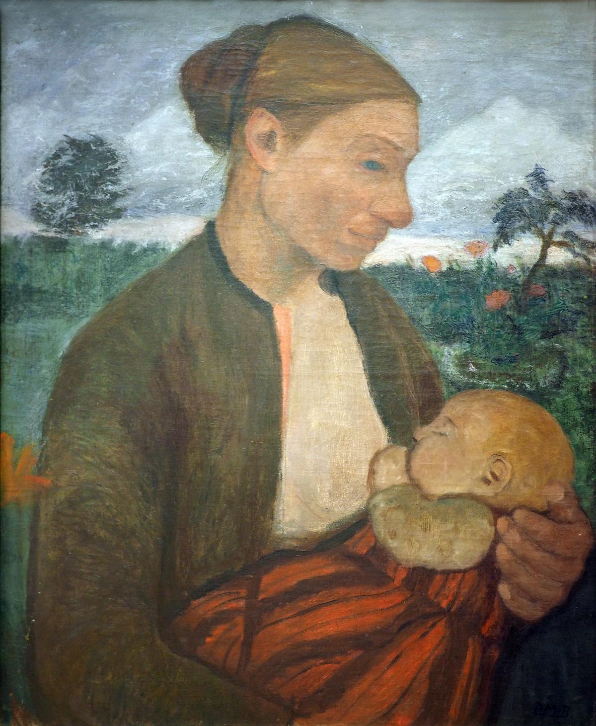 Modersohn Becker Paula Mother and ChildKunsthalle Hamburg