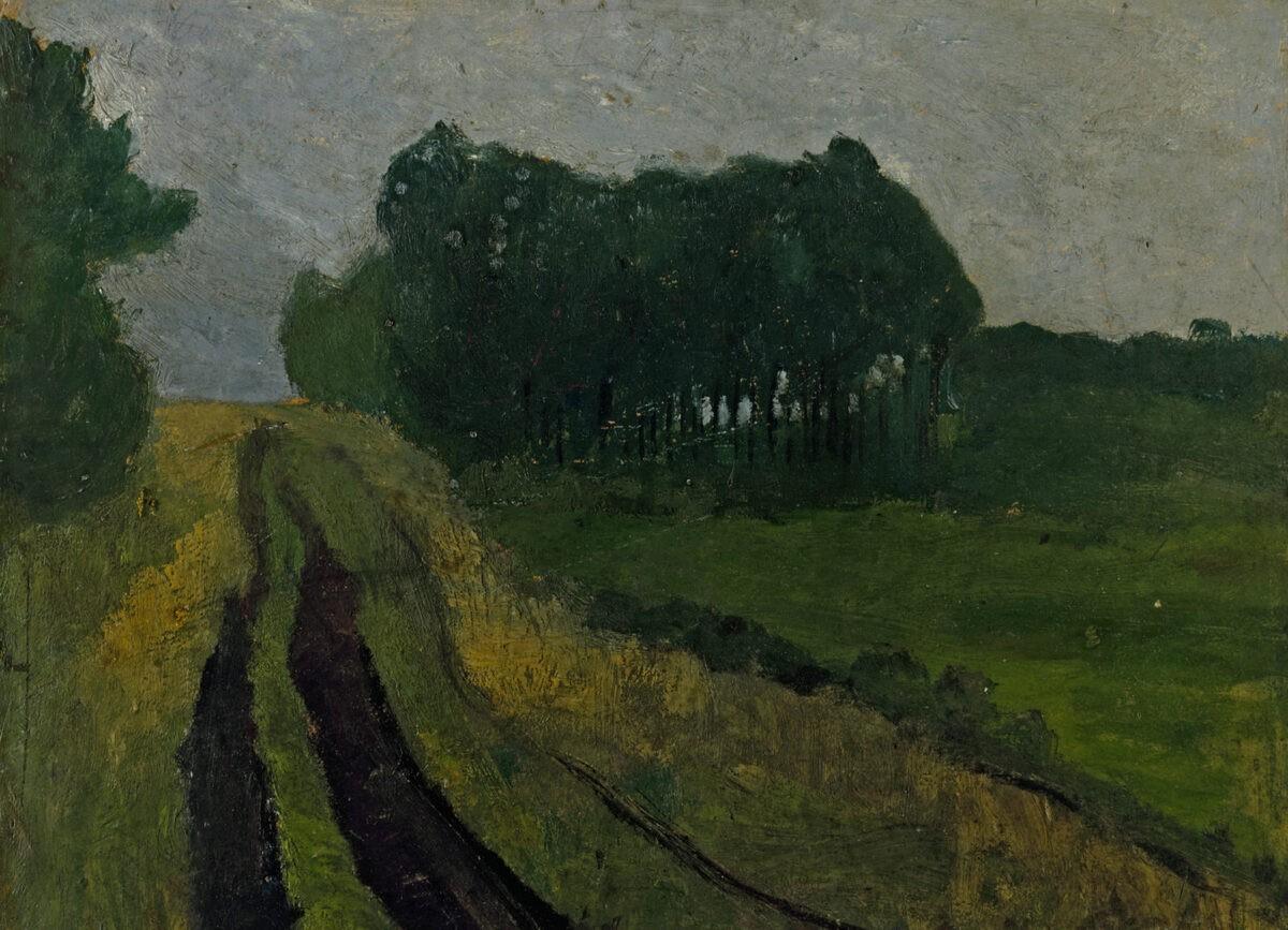 Paula Modersohn Becker Abendlandschaft 1904