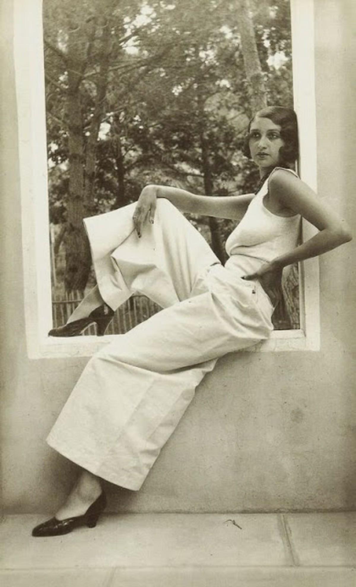 Renee Juan les Pins May 1930