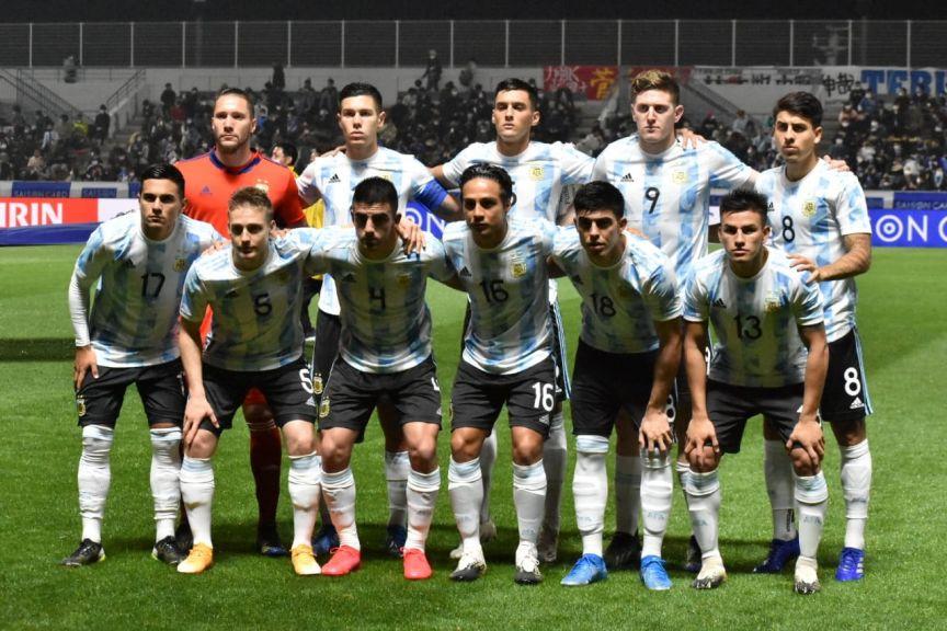 argentina sub23 vsjapon