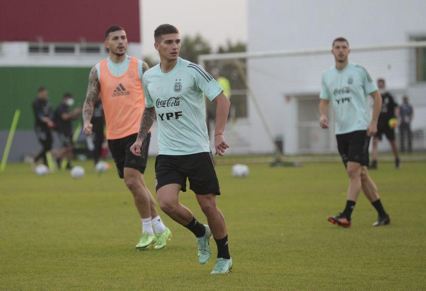 copaamerica argentina entrenamiento previo final 3