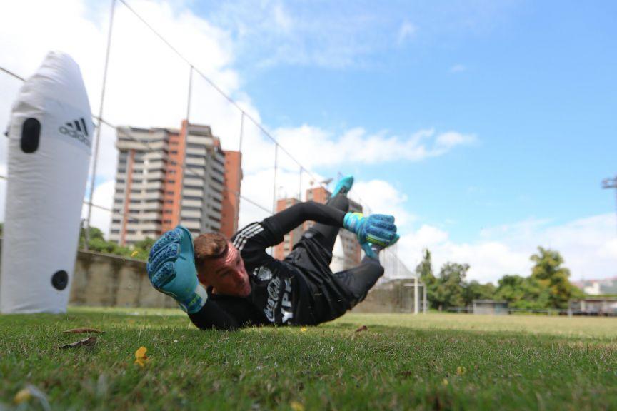 eliminatorias argentina venezuela entrenamiento 1