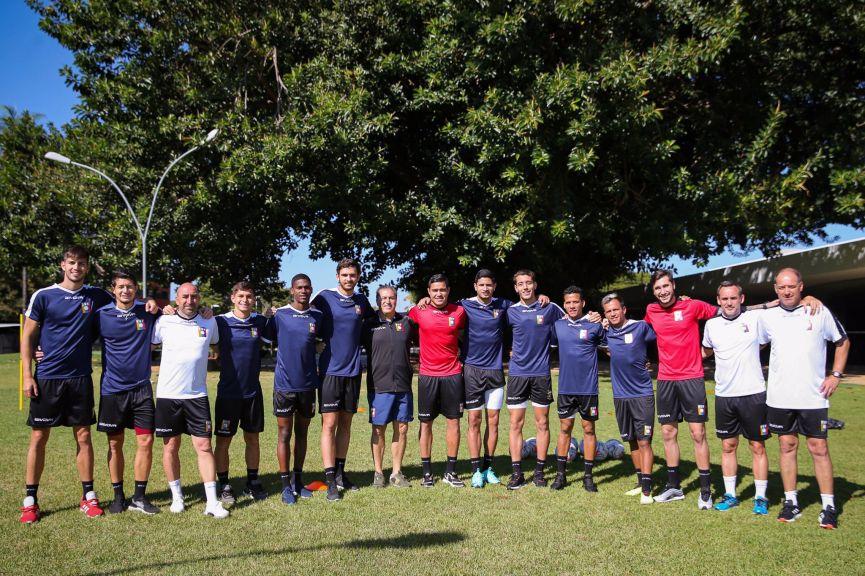 futbol venezuela entrenamiento 1
