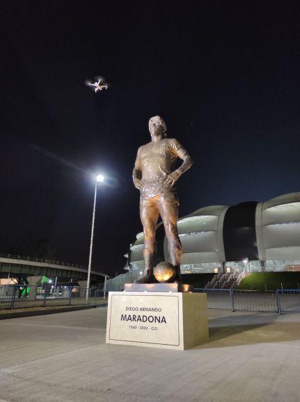 seleccion homenaje maradona santiago 2
