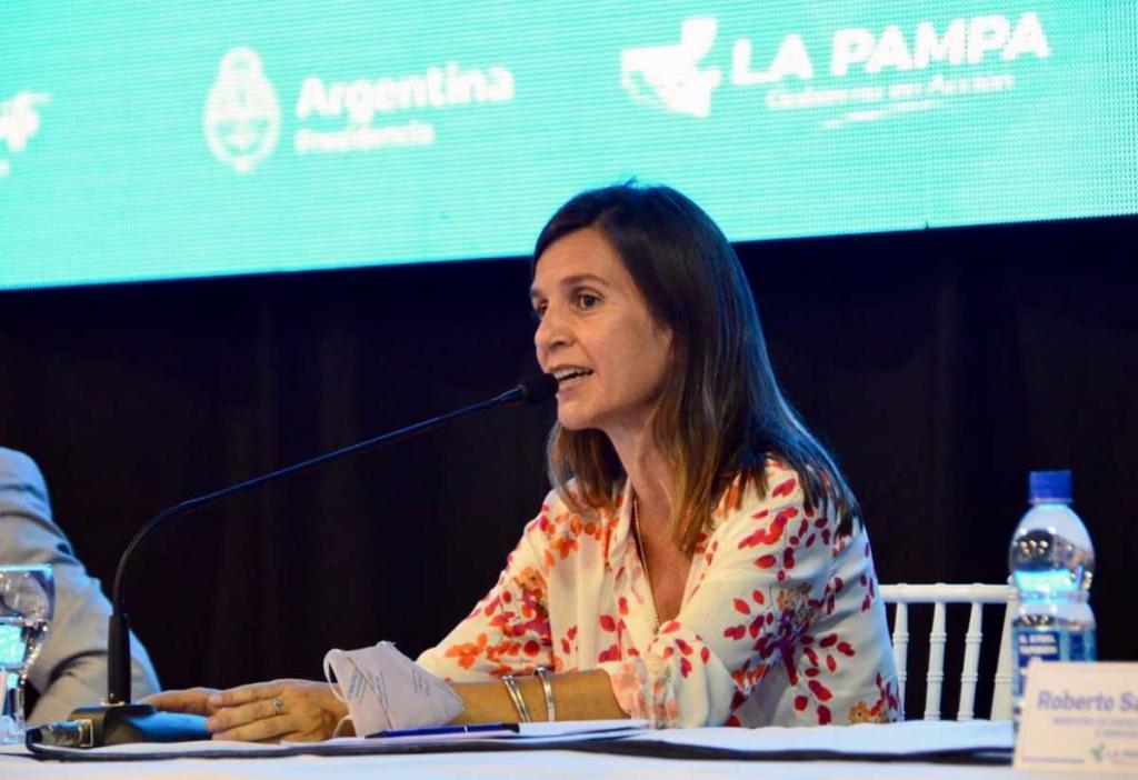 María Fernanda Raverta.