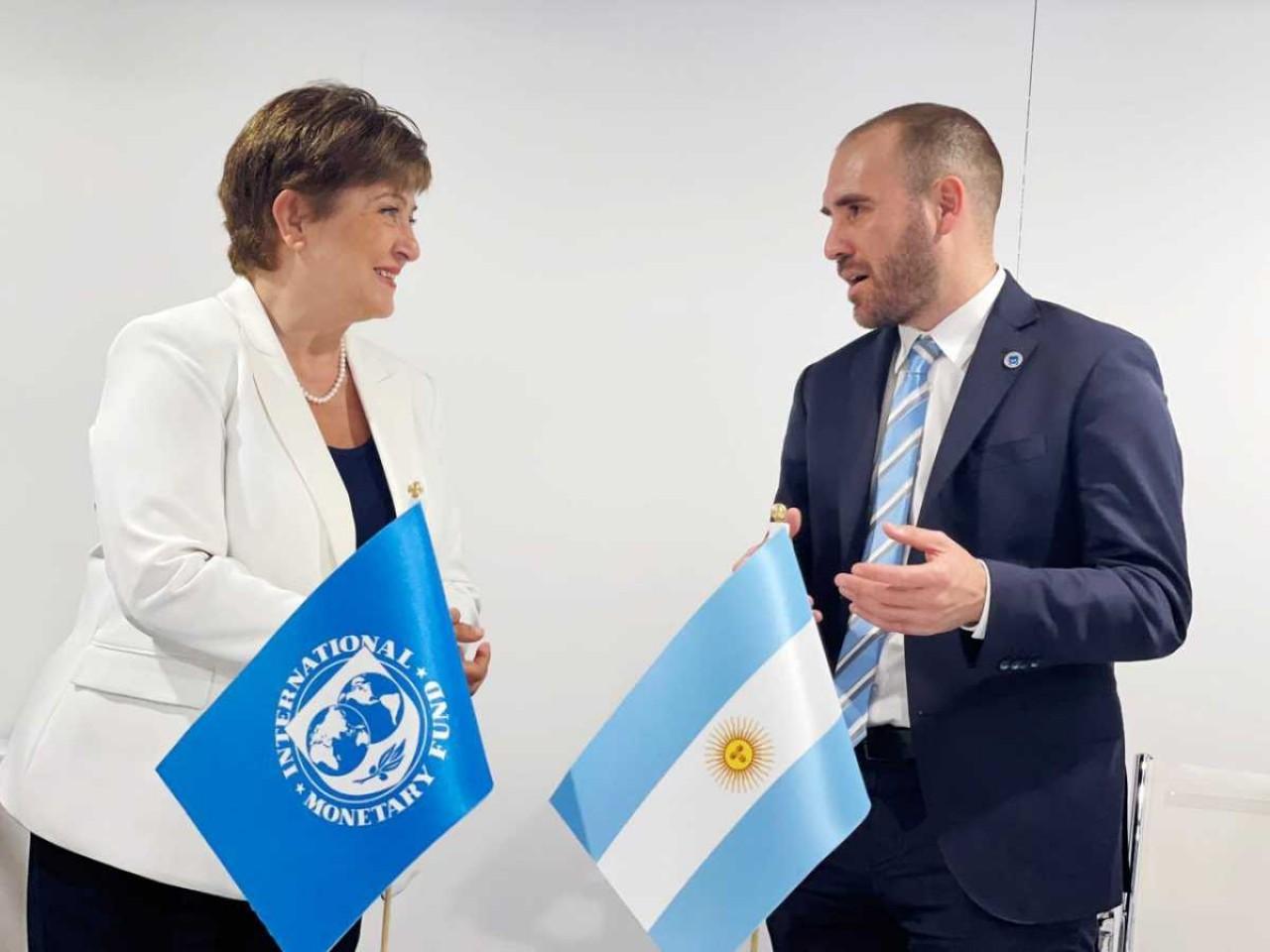 """El tuit de Georgieva: """"Gran encuentro con Martín Guzmán en Venecia"""" -  Noticias Argentinas"""