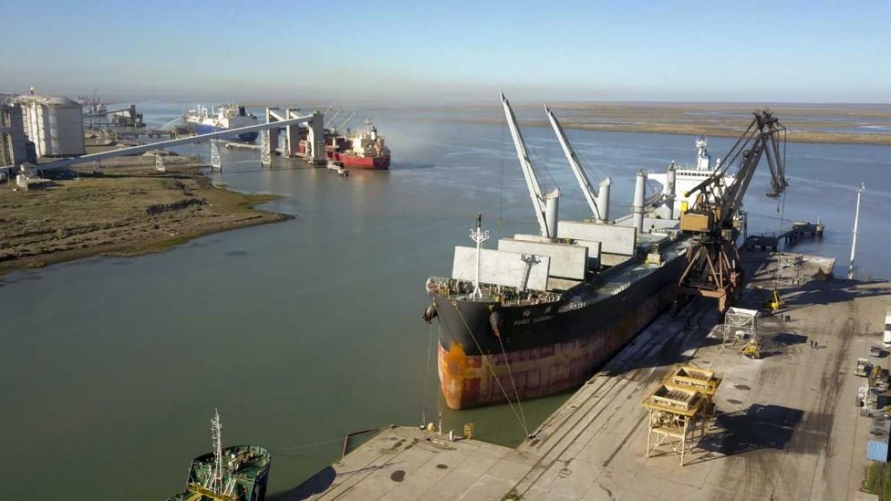 Los puertos ubicados al sur de la provincia de Buenos Aires desempeñan un rol cada vez más clave para la agroindustria.
