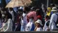 Marchas en microcentro: el Polo Obrero protestó en Desarrollo Social y Castells frente al Obelisco
