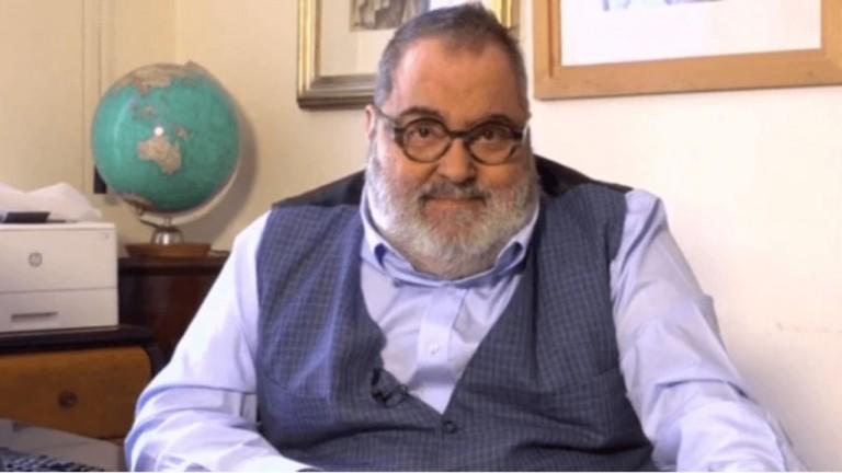 Jorge Lanata se vacunó contra el coronavirus en Miami