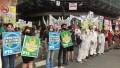 Por protestas, se cayó la sesión para avanzar con proyectos mineros en Chubut