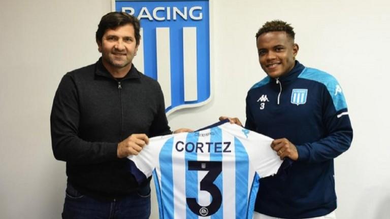 El ecuatoriano Gustavo Cortez firmó su contrato y es refuerzo de Racing
