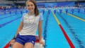 """Con """"nervios"""", Pignatiello tuvo malas sensaciones en su debut olímpico en los 1500 metros de natación"""