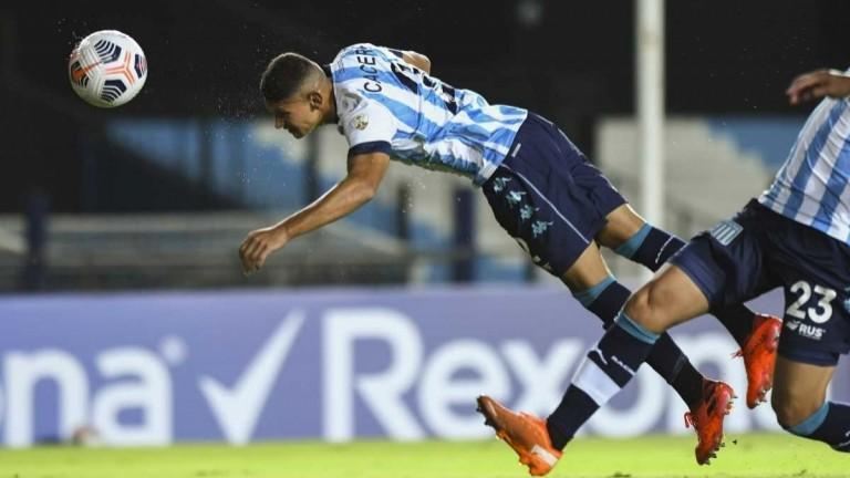 Racing viaja a Perú con una mala noticia: Cáceres sufrió una distensión