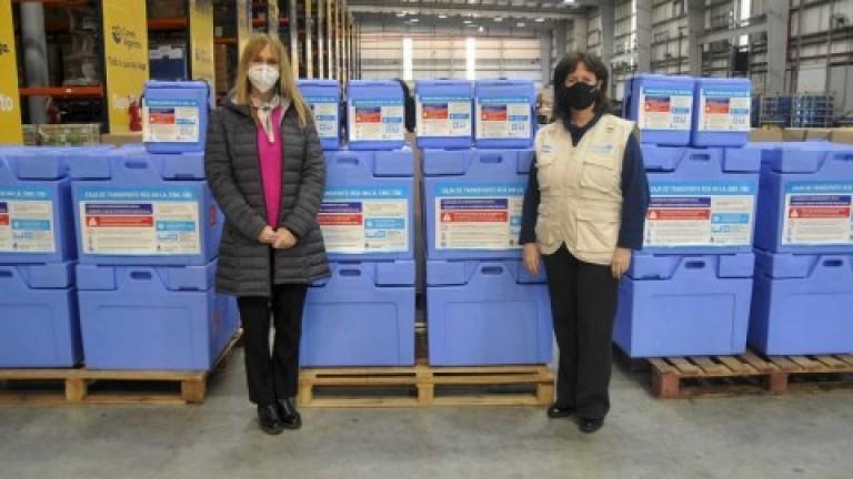 Ministerio de Salud recibió de Unicef 10 mil conservadoras y termos para garantizar cadena de frío de las vacunas