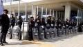 Incidentes en una protesta en Lugano: manifestantes quisieron ingresar por la fuerza al Ministerio de Desarrollo porteño