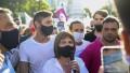 Marcada presencia de Juntos por el Cambio en la movilización contra el Gobierno