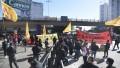 Una protesta de colectiveros complica accesos a la Capital Federal