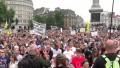 Masivas protestas en Europa contra las medidas para frenar la pandemia del Covid-19