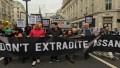 Británicos se movilizaron por la libertad de Julián Assange