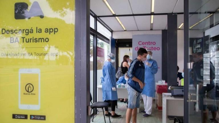 La Ciudad superó la barrera del millón de testeos en los centros para el turismo