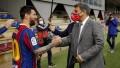 """Laporta reiteró su deseo de sellar la renovación de Messi """"cuanto antes"""" y afirmó que Agüero """"está ayudando"""""""