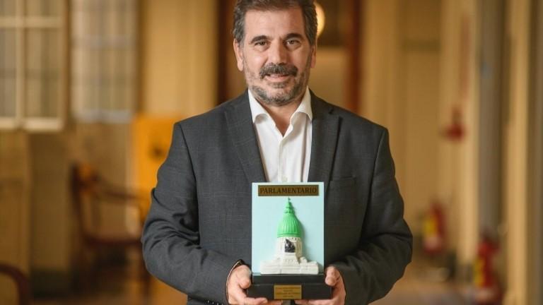 Ritondo recibió el Premio Parlamentario al