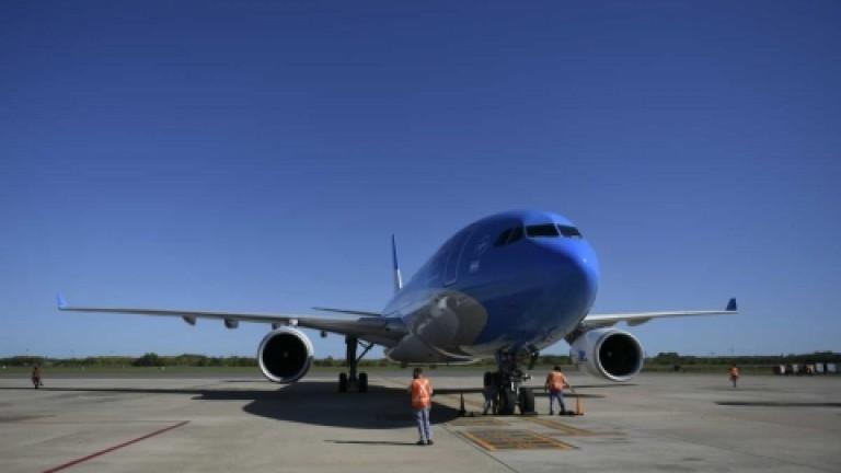 Partió el decimoquinto vuelo de Aerolíneas a Moscú para traer