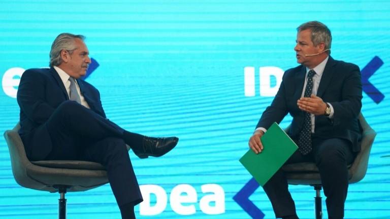 """Advertencia presidencial a empresarios en IDEA: los precios subieron """"de una manera incomprensible"""""""