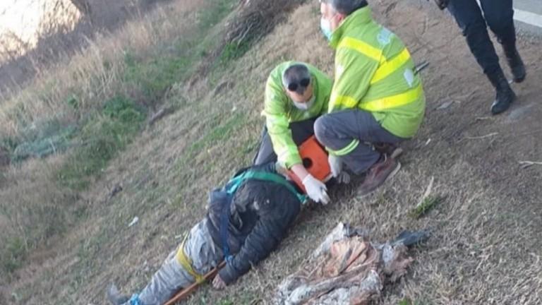 Buscan a la persona que atropelló a un albañil en La Plata y se dio a la fuga