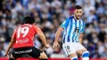 Real Sociedad logró una agónica victoria sobre Mallorca y lidera LaLiga de España