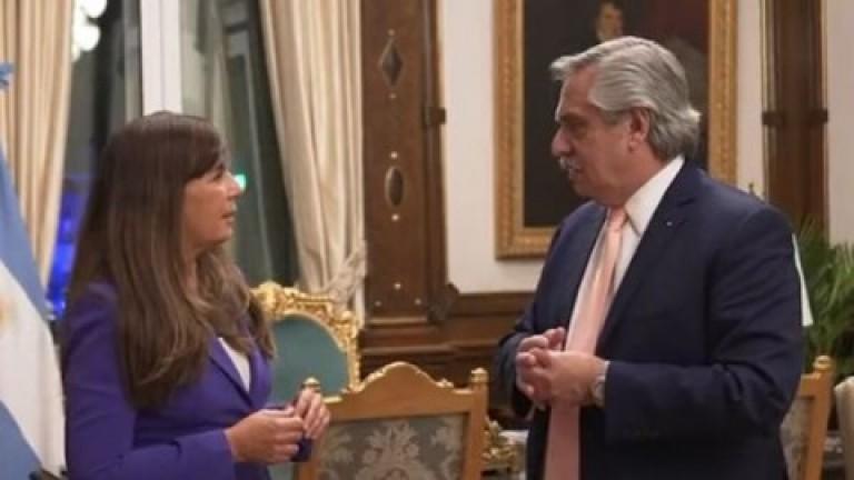 """Alberto Fernández anunció que Gabriela Cerrutti estará """"a cargo de la Unidad de Comunicación de Gestión Presidencial"""""""
