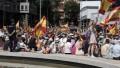 La derecha española evitó la foto unida pese a coincidir en el rechazo al indulto a golpistas catalanes