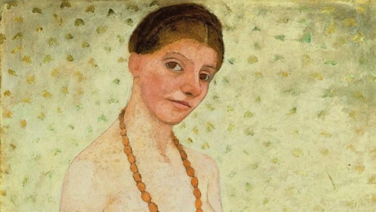 """El ojo del arte: """"Autorretrato en el sexto aniversario de bodas"""", de Paula Modersohn Becker, la primera artista expresionista alemana"""
