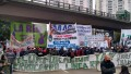 Nuevo corte de trabajadores tercerizados en el Puente Pueyrredón: hay demora en los accesos