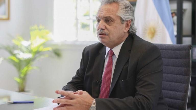 Alberto Fernández participará esta tarde del Foro de Davos