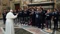 La curiosa enseñanza de potrero del Papa a un equipo italiano de waterpolo