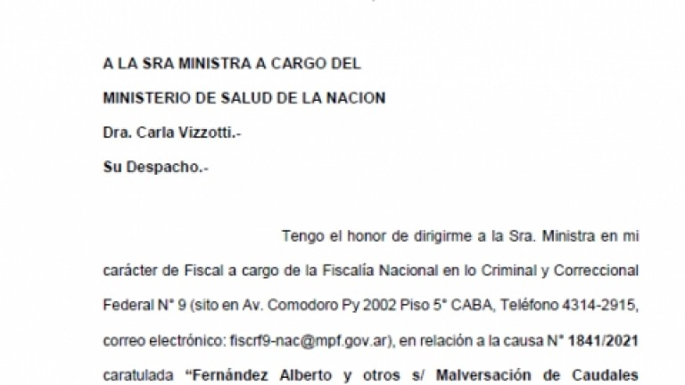Un ex combatiente denunció a Vizotti por no darle la segunda dosis de la vacuna Sinopharm